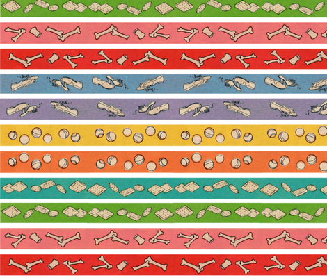 Doggies2 fabric by little_ella_lu on Spoonflower - custom fabric