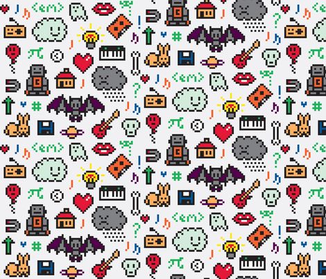 All sorts fabric by richheartpixels on Spoonflower - custom fabric