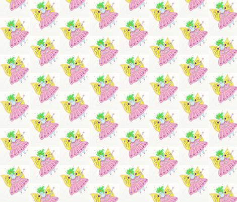 Fat Fairy fabric by kristinbell on Spoonflower - custom fabric