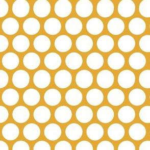 retro mustrad bold dots
