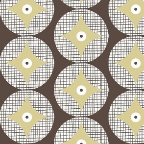 retro cathedral window pattern