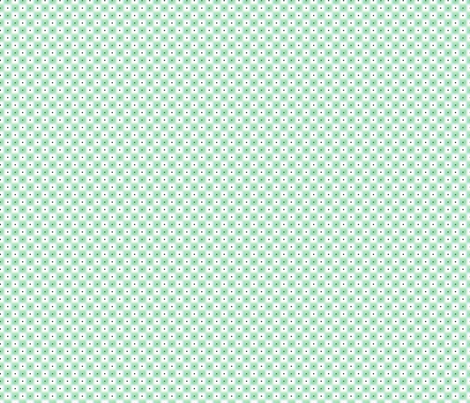 double dot over in green fabric by glimmericks on Spoonflower - custom fabric