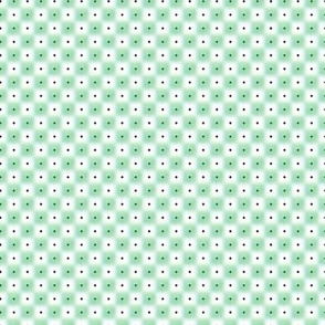 double dot over in green