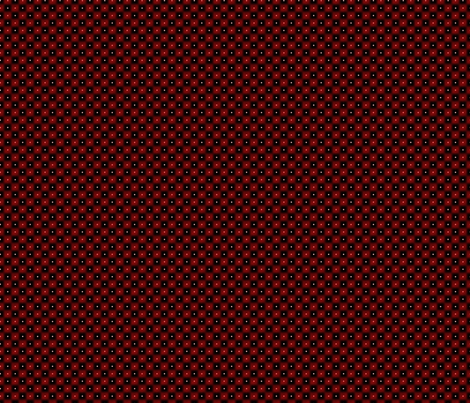 double dot over in checkers fabric by glimmericks on Spoonflower - custom fabric