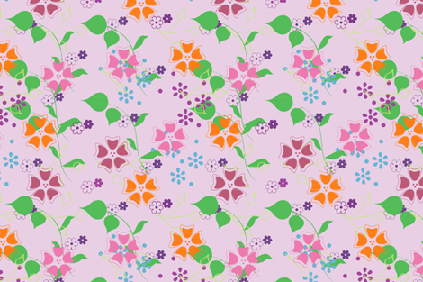 summer bloom-ch fabric by snork on Spoonflower - custom fabric