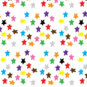 Coloured stars