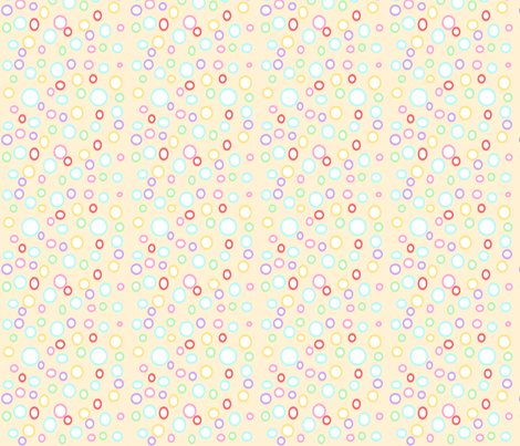 Boobles fabric by ddm_by_karolina on Spoonflower - custom fabric