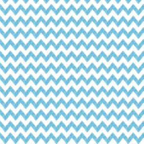 zig zag terrain in blue
