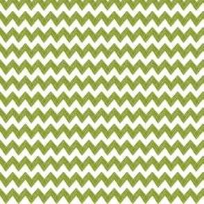 zig zag terrain in moss green