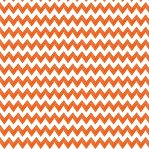 zig zag terrain in orange