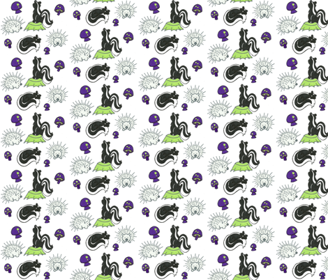 Friend or Foe fabric by kbexquisites on Spoonflower - custom fabric