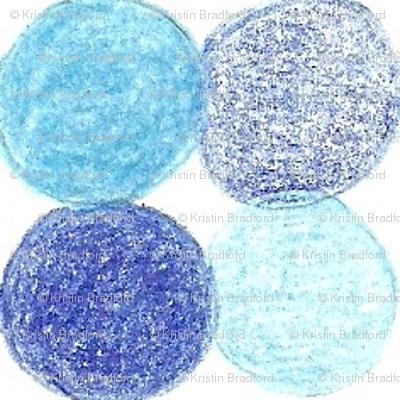 Meadow Dots in Blue