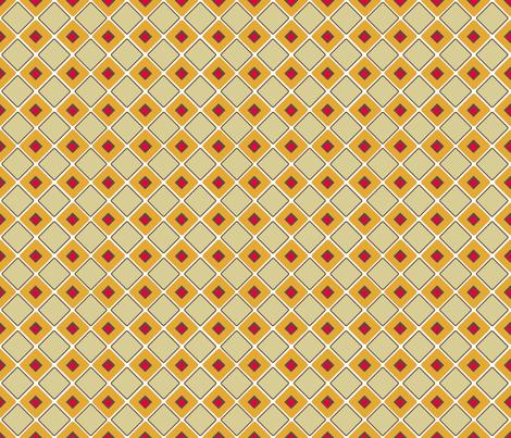 Ice Box - Retro Kitchen fabric by engravogirl on Spoonflower - custom fabric
