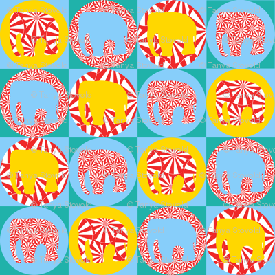 Circus Elephant (small scale)