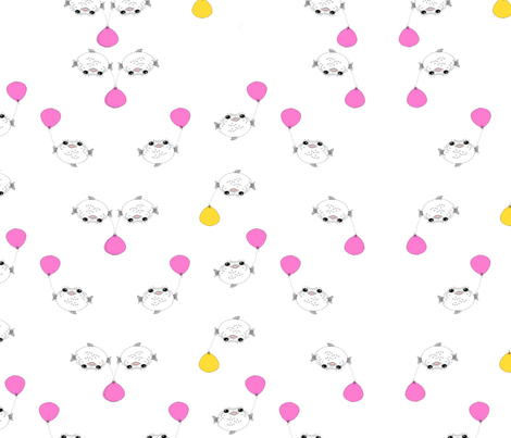 puffer_small fabric by mylovenart on Spoonflower - custom fabric