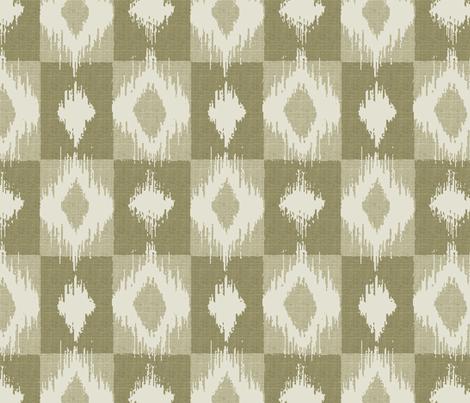 Ikat Linen fabric by littlerhodydesign on Spoonflower - custom fabric