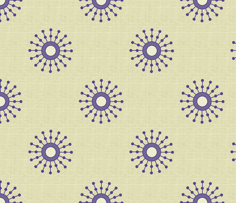 Starburst Ink fabric by littlerhodydesign on Spoonflower - custom fabric