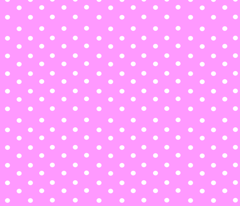 Pink Polkas fabric by stickelberry on Spoonflower - custom fabric