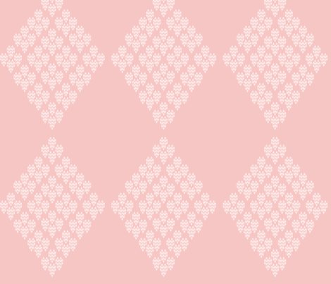 Baby Girly Hearts fabric by meredithjean on Spoonflower - custom fabric