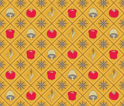 Earthenware fabric by jjtrends on Spoonflower - custom fabric