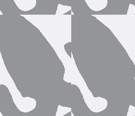 Silver Fox fabric by susaninparis on Spoonflower - custom fabric