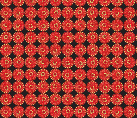 Julitha (Fireworks) fabric by bippidiiboppidii on Spoonflower - custom fabric