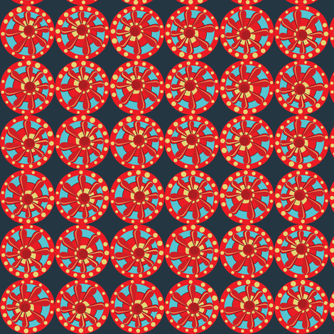 Julitha (Kimono #1) fabric by bippidiiboppidii on Spoonflower - custom fabric