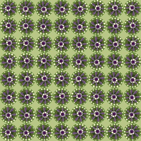 Julitha (Suffragette) fabric by bippidiiboppidii on Spoonflower - custom fabric