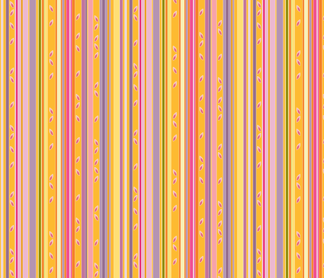 Petal Stripe fabric by kayajoy on Spoonflower - custom fabric
