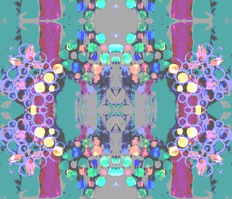 Fleurs fabric by terrikate on Spoonflower - custom fabric