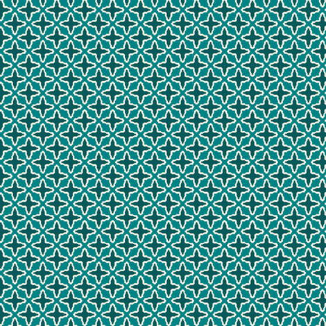 Criss Cross Mini fabric by littlerhodydesign on Spoonflower - custom fabric
