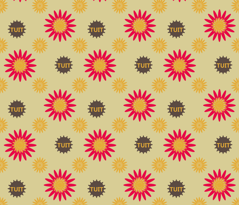 SpringTuit fabric by grannynan on Spoonflower - custom fabric