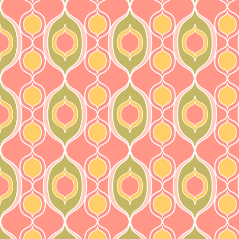 Ogees Pink fabric by alisontauber on Spoonflower - custom fabric