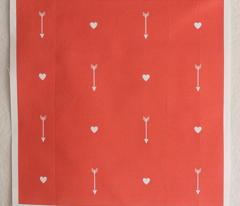 Arrows and Hearts on Pink