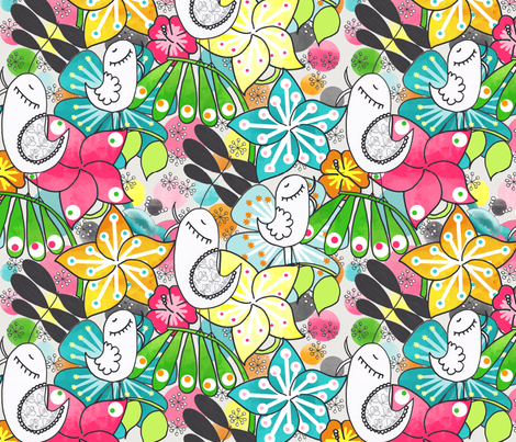 Lush fabric by natitys on Spoonflower - custom fabric