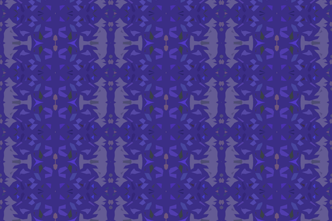 Nightshade fabric by susaninparis on Spoonflower - custom fabric