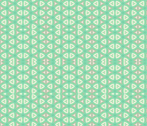 Coyote Cactus Green fabric by anniedeb on Spoonflower - custom fabric
