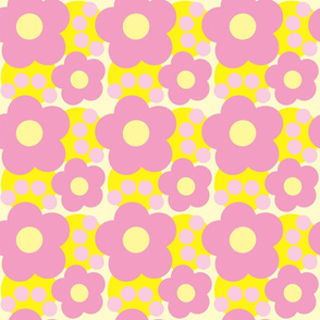 Graphic Daisies n Dots