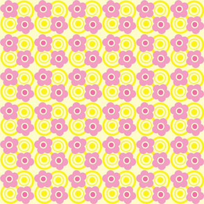 Pink and Yellow Floral 3
