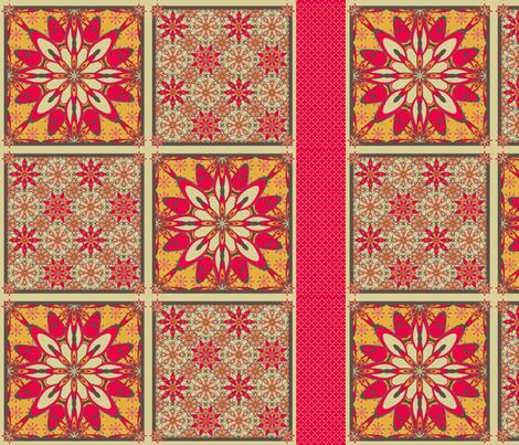 WildDaisey-Retro-Pads2 fabric by grannynan on Spoonflower - custom fabric