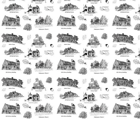 BlackStratfordToile fabric by joofalltrades on Spoonflower - custom fabric