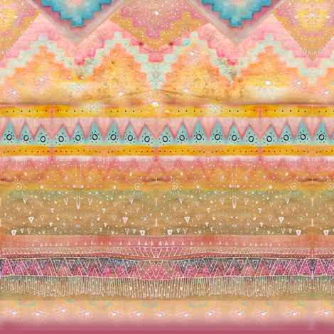 Early Morning Magic 3 fabric by ★lucy★santana★ on Spoonflower - custom fabric