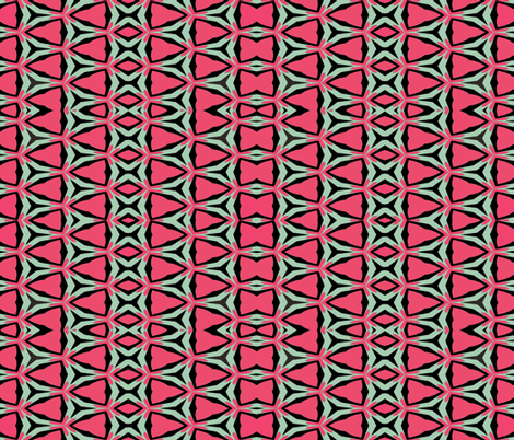 Coyote Bowtie fabric by anniedeb on Spoonflower - custom fabric