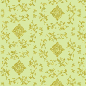 Doodle Toile Sage