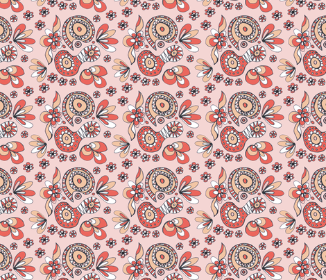 Mad_Paisley_copy fabric by trishadstudio on Spoonflower - custom fabric