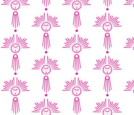 Mystic Emblem fabric by dolphinandcondor on Spoonflower - custom fabric