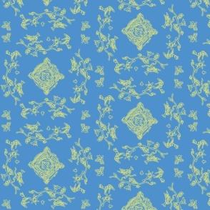 Hummingbee bleu