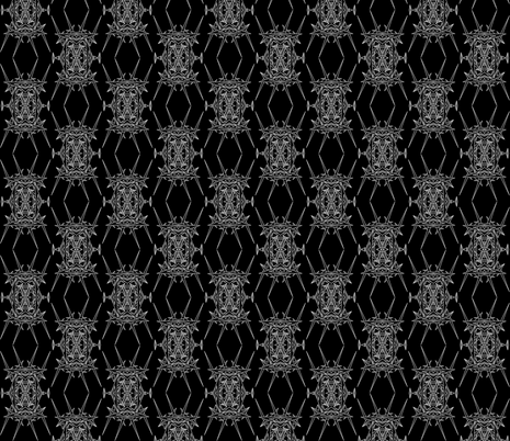 DiAtomic Black Too fabric by imagifab on Spoonflower - custom fabric