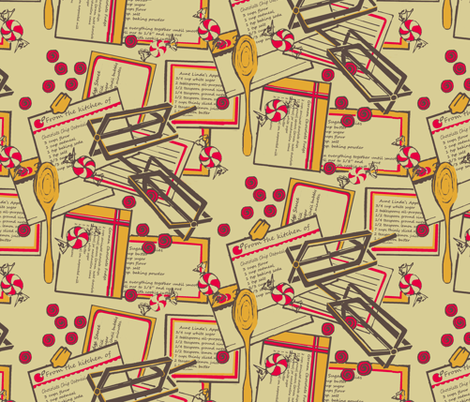 Batter and Beaters  fabric by thats_artrageous on Spoonflower - custom fabric