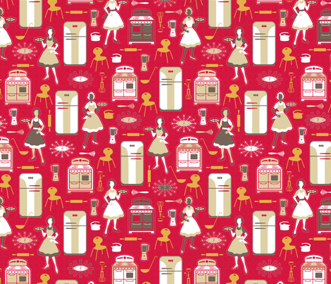 Cookies DeLuxe fabric by jennartdesigns on Spoonflower - custom fabric